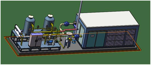 VOCs气体冷凝工艺