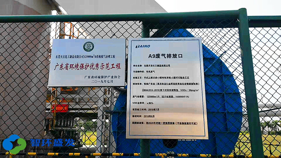 """智环盛发环保喜获""""广东省环境污染治理能力评价证书"""""""